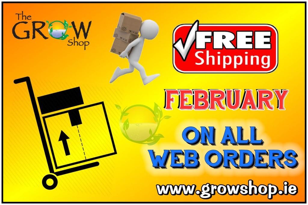 Free Shipping Grow Shop