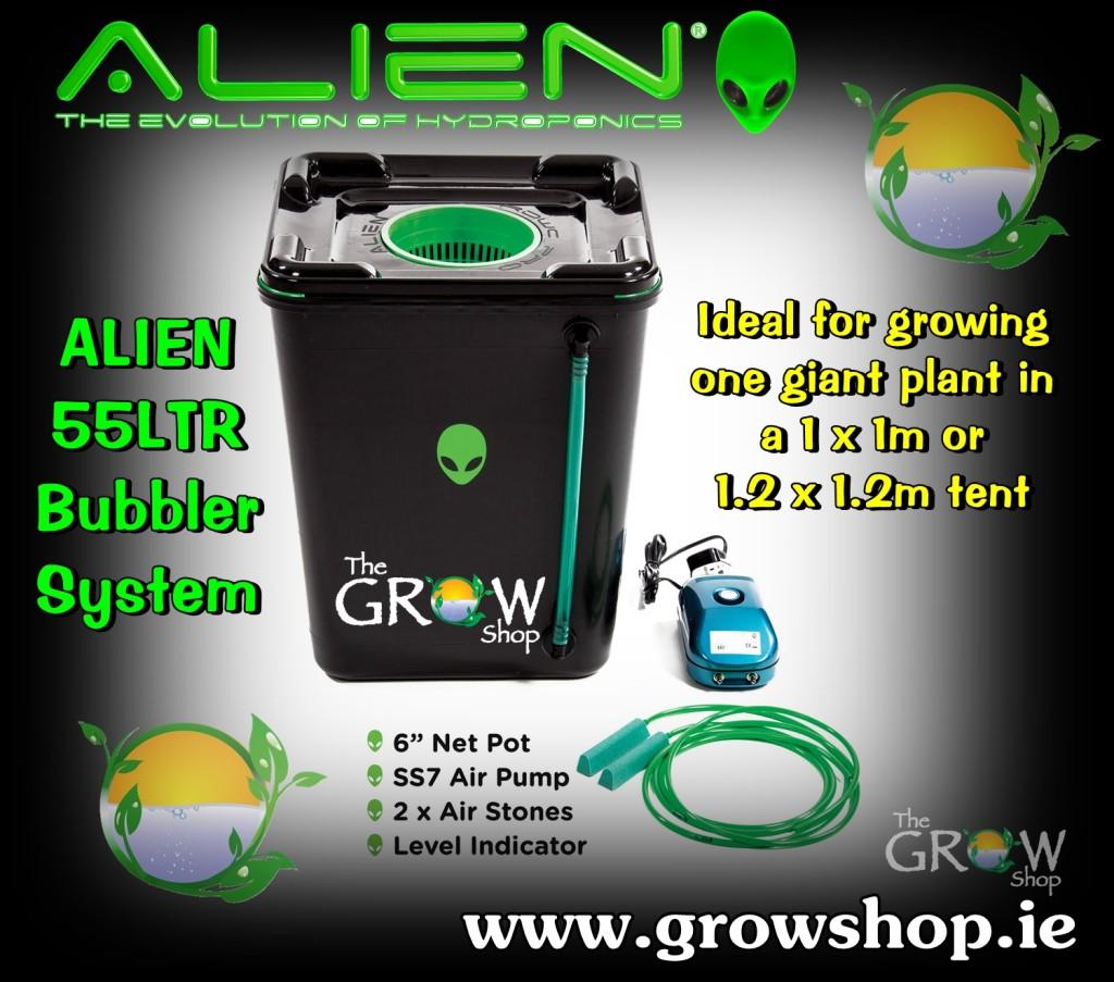 Alien 55Ltr Bubbler System
