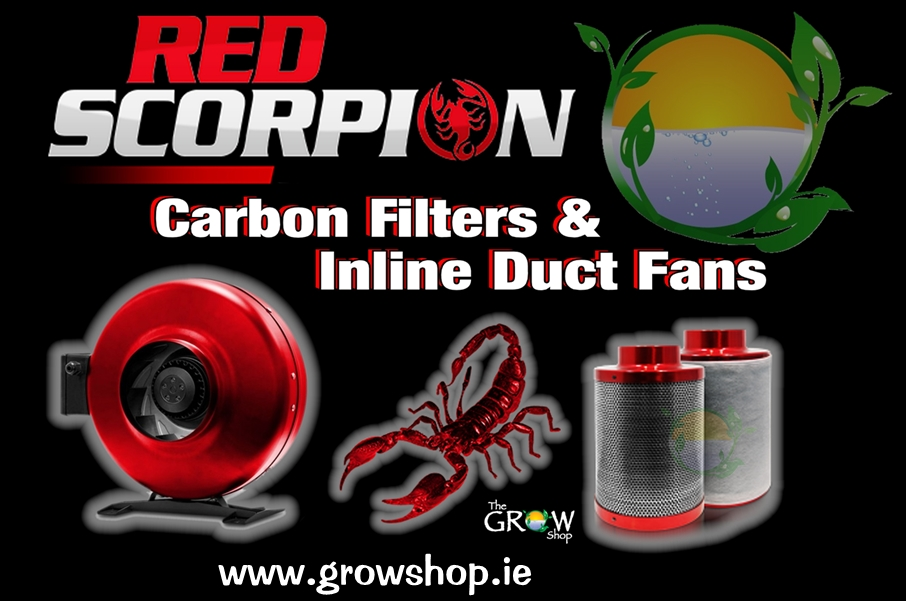 Red Scorpion Carbon Filters & Inline Duct Fans